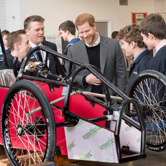 Prince Harry Visiting Silverstone Circuit Pictures