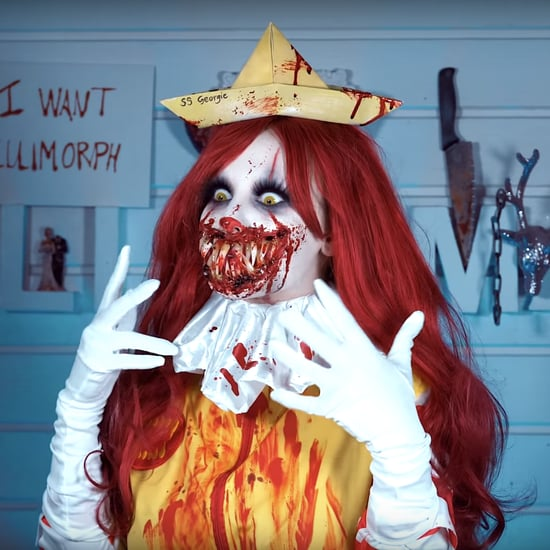 Scary Ronald McDonald Clown Makeup Video