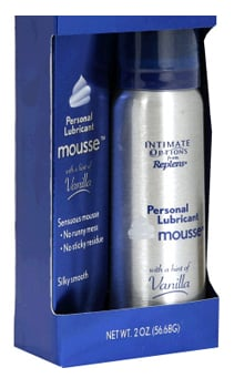 Personal Lubricant in Mousse Form