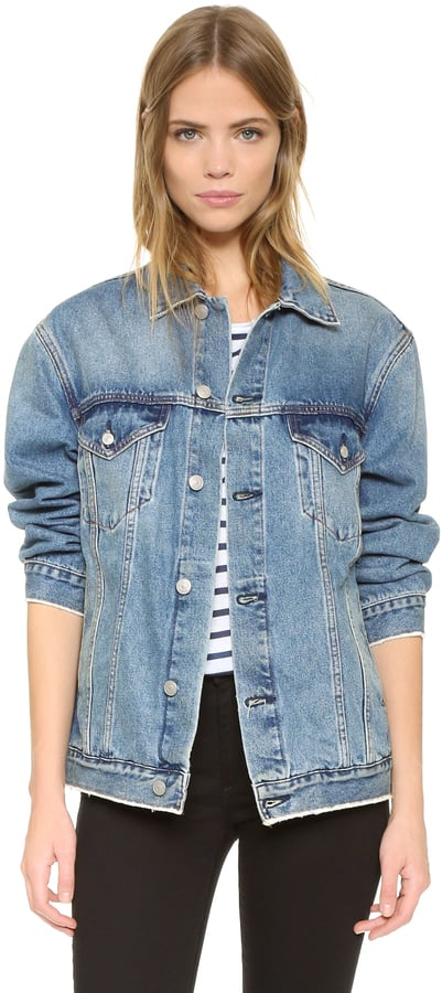 Earnest Sewn Cecil Oversize Denim Jacket ($170)