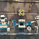 As a part of their series 8 box, Lego Mixels are adding a dentist collection that adds some humor in the doctor's office and his or her unfamiliar tools.