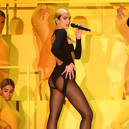 Dua Lipa Wore a Mugler Bodysuit For Her MTV EMAs Performance