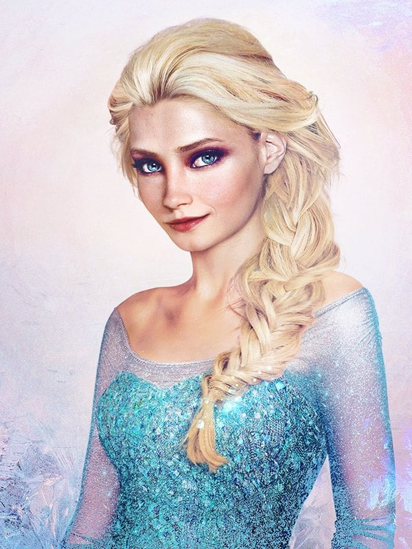 Elsa Real Life Disney Princess Art Popsugar Australia Love