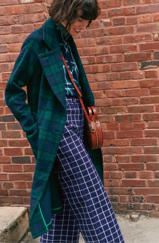 Avec Les Filles Double-Face Wool-Blend Coat