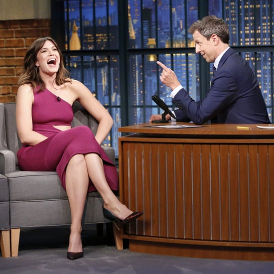Mandy Moore Talks About Her Sperm Tattoo With Seth Meyers