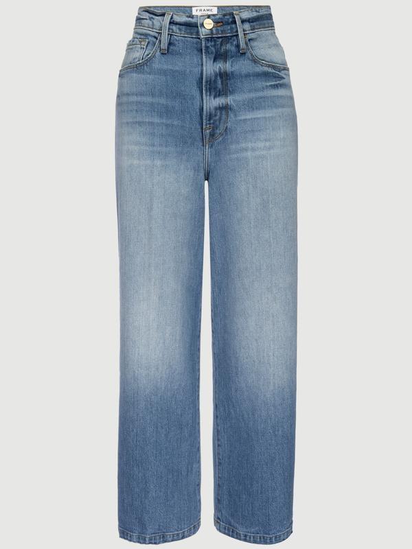 Frame Ali Wide Crop Jean