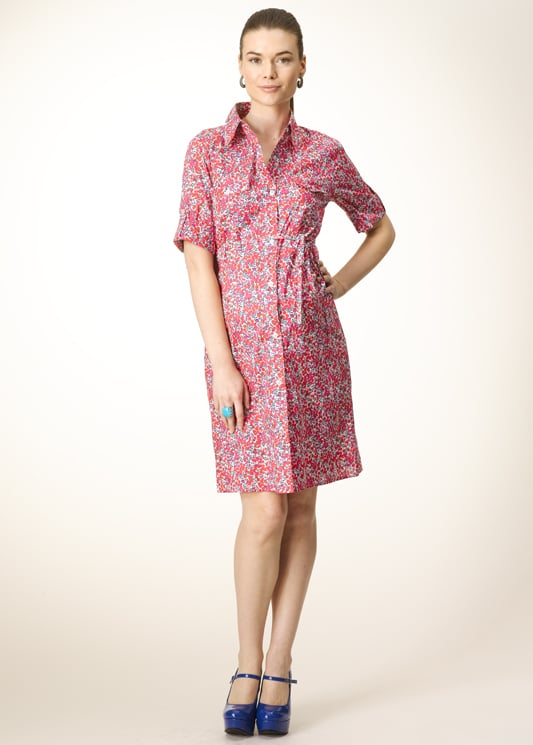 Rosie Pope Liberty Pocket Front Shirtdress