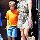 Reese Witherspoon and son Deacon Phillippe.