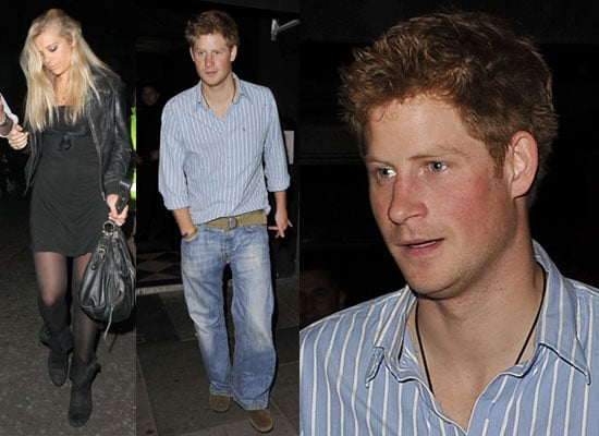 Photos of Chelsy Davy and Prince Harry