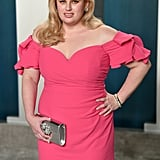 Rebel Wilson at the Vanity Fair Oscars Afterparty 2020