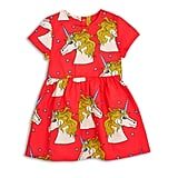 Mini Rodini Unicorn Star Woven Dress