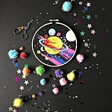 Hot Planet Embroidery Kit