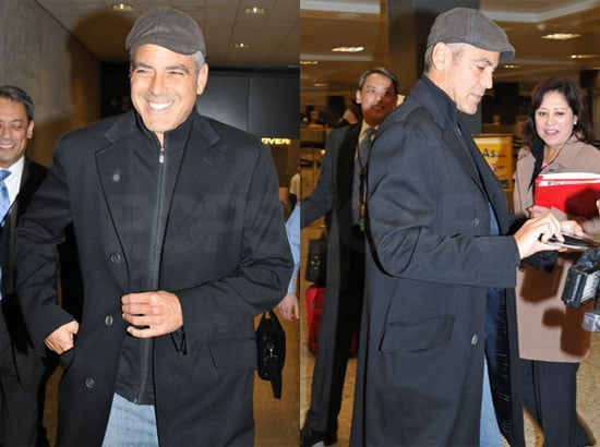 George Clooney Arrives in DC