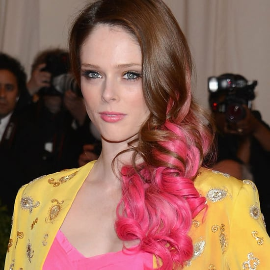 Coco Rocha Dons Pink Hair at the 2012 Met Costume Institute Gala