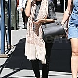 Ashley Olsen sported sunglasses on a sunny East Coast day.
