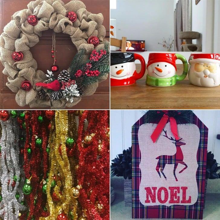 Dollar Tree Christmas Decorations.Dollar Store Christmas Decorations Popsugar Smart Living
