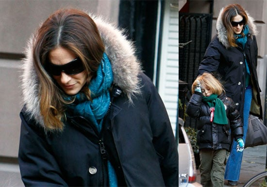 Photos of Sarah Jessica Parker and James Wilkie in NYC, SJP Talks About Sex and the City Sequel