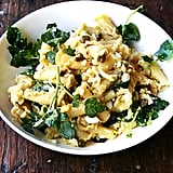 Easy Vegetarian Recipe: Campanelle With Hard-Boiled Eggs, Capers, and Watercress