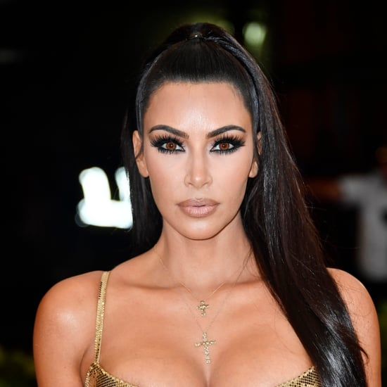 Kim Kardashian's Makeup at Met Gala 2018