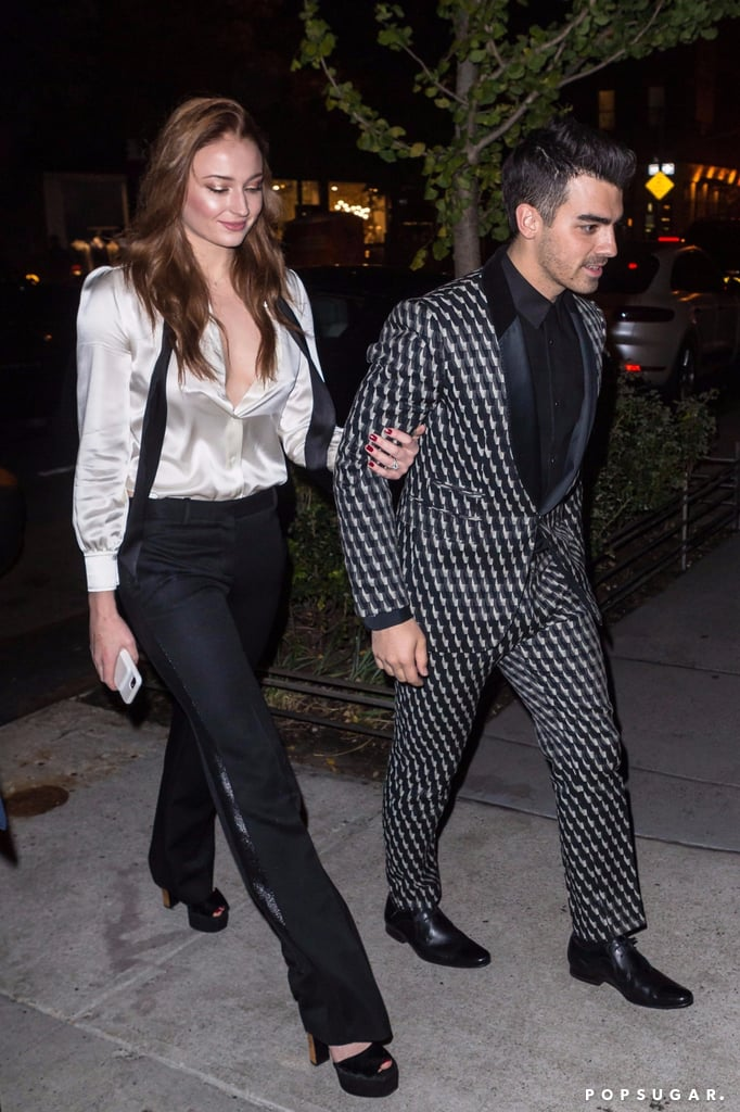 Sophie Turner and Joe Jonas Will Win You Over With Their Matching Engagement Party Looks
