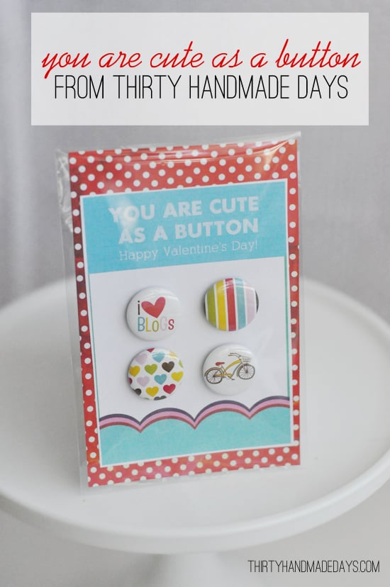 You Are Cute as a Button Cards