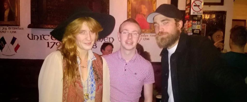 Robert Pattinson and Florence Welch in Belfast Photos