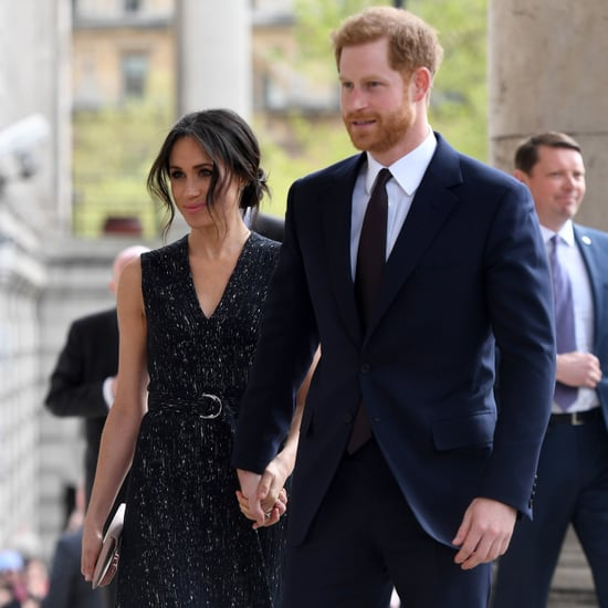 Meghan Markle Wearing Hugo Boss Dress
