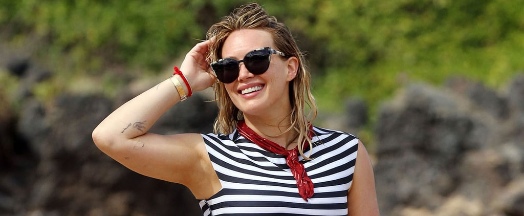 "Hilary Duff Shares a Video of Her ""Brave"" Son Luca in the Ocean in Hawaii"