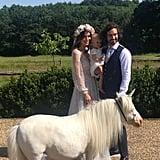 Joe Wicks and Rosie Jones Wedding Photos