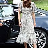 Kate Middleton's Midi Tea Dress June 2019