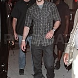 Justin Timberlake's night out in NYC.