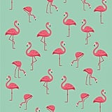 Bahia Collection by Dohler Multi Flamingos Beach Towel