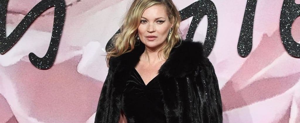 Wearing All Black Is Never Boring When You're Kate Moss