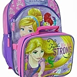 Disney Princess Kids Courage Backpack & Lunch Bag Set