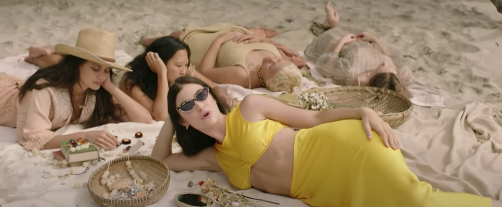 """Lorde's Yellow Two-Piece Set in """"Solar Power"""" Music Video"""