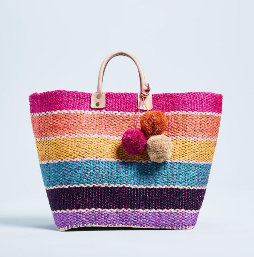 VIDA Tote Bag - Spring Violets Tote by VIDA 37lXzVQ7vD