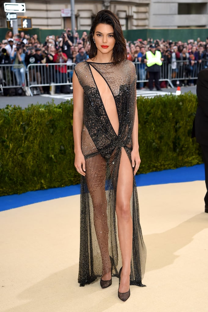 Kendall Jenner in La Perla Haute Couture as . . .