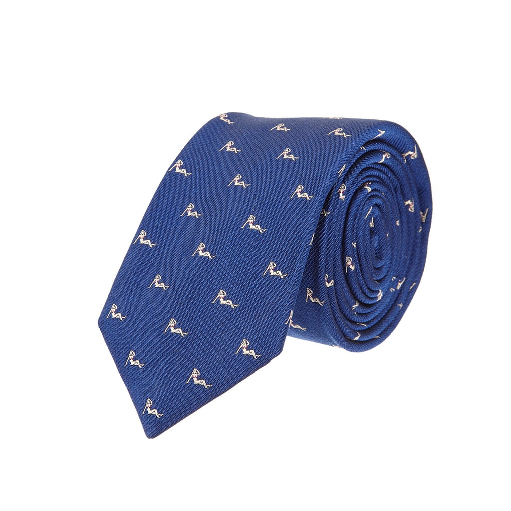 The best part of this Rag & Bone tie ($150) is that you don't realize its cheeky print until you take a closer look at it.