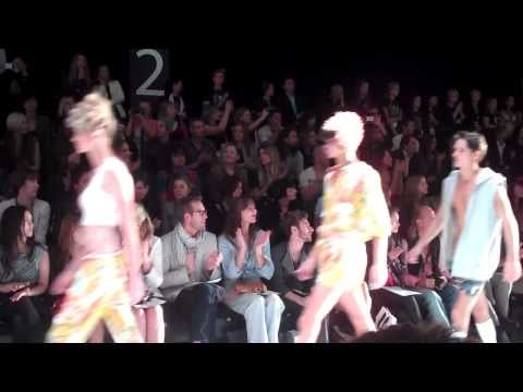 Video of Anna and Boy's RAFW Show