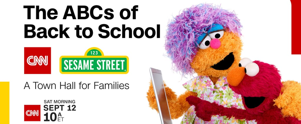 CNN Sesame Street Town Hall For Back-to-School
