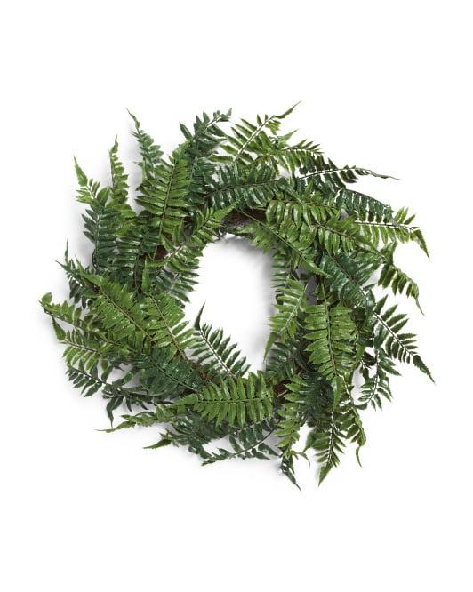 Fern Wreath Twig Base