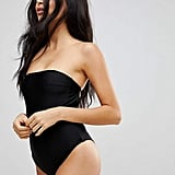 ASOS's Playful Promises High Leg Swimsuit with Removable Multiway Straps ($38) will remain a classic in your swim drawer forever.