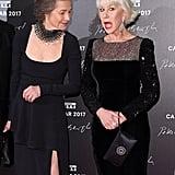 Charlotte Rampling and Helen Mirren