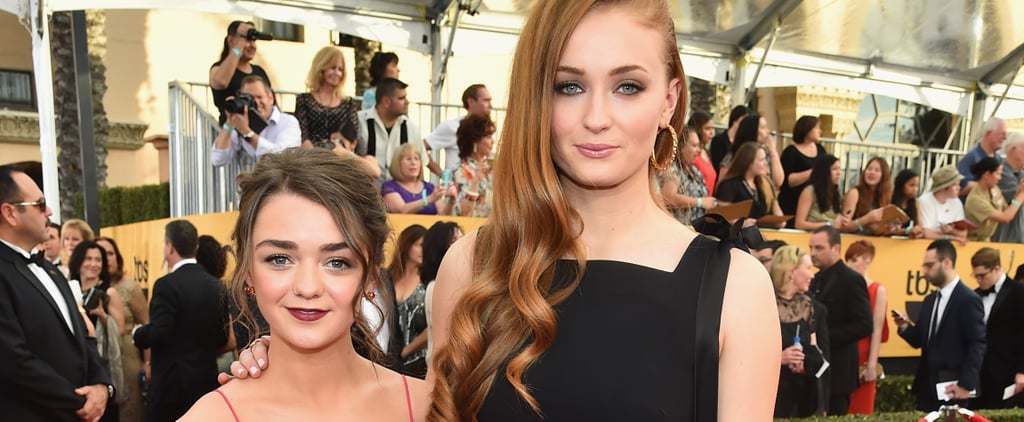 Maisie Williams and Sophie Turner Glamour UK Interview 2019