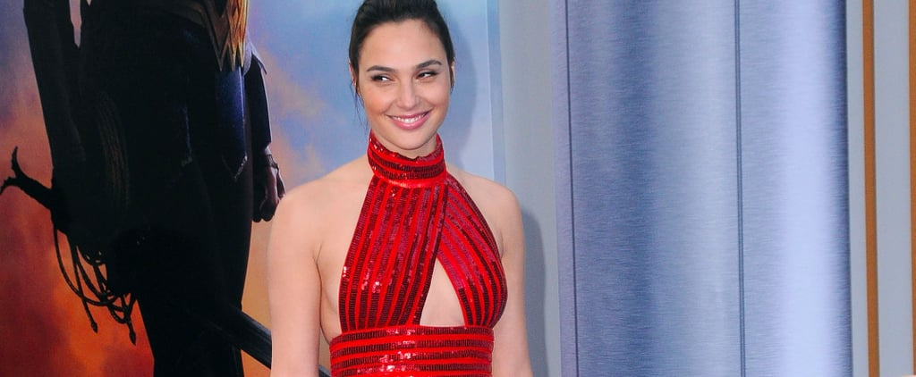 Gal Gadot Wearing Flats at Wonder Woman Premiere
