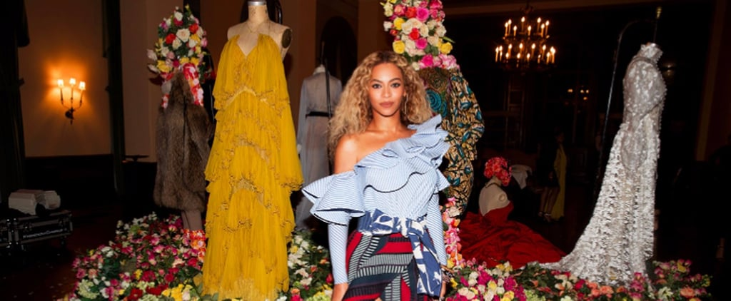Beyoncé Poses With Her Lemonade Costumes Because, Let's Face It, They're Historical Artifacts