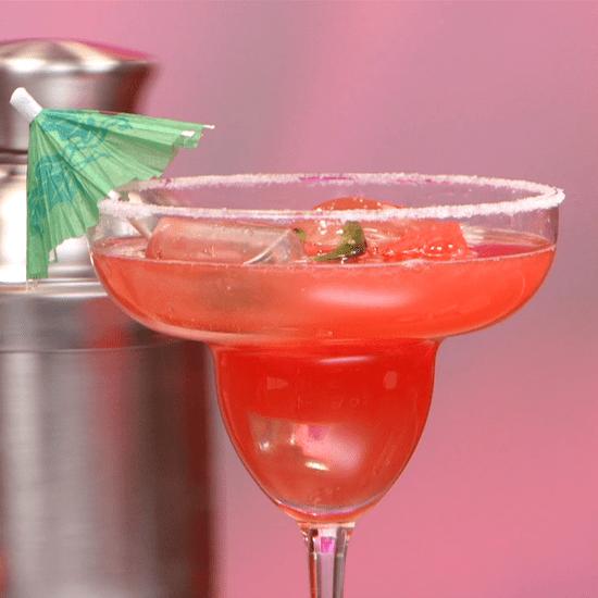 Watermelon Jalapeno Margarita Recipe   Video