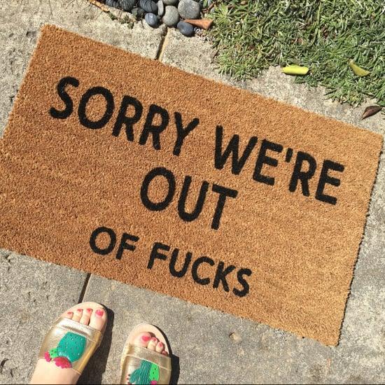 Curse-Word Doormats