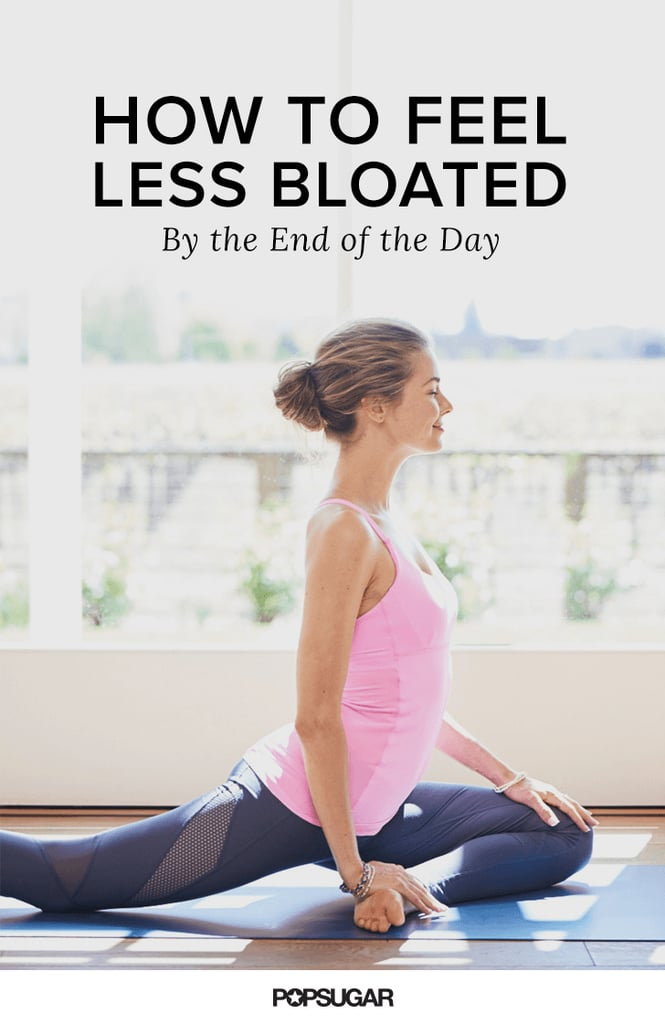 How to Feel Less Bloated by the End of the Day