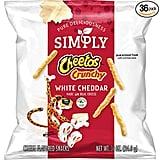 Simply Cheetos Crunchy White Cheddar
